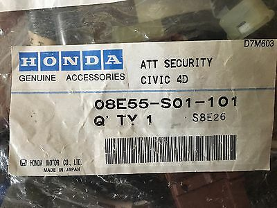 1996~2000 New Genuine OEM Honda Civic Security System Harness:  08E55-S01-101
