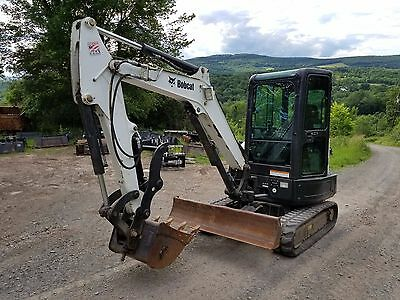 Bobcat E32 Excavator Only 1300 Hr A/c Thumb Ready 2 Work Pa We Ship Nationwide!