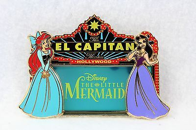 Disney DSF The Little Mermaid Ariel Vanessa El Capitan Marquee LE 400 Pin