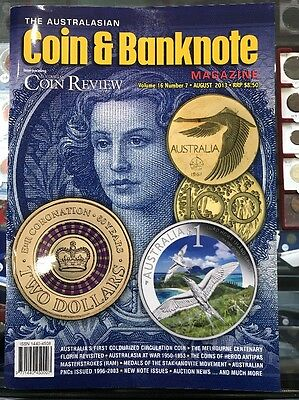 Australasian Coin & Banknote CAB Magazine Vol 16 No 7 August 2013 Coin Review