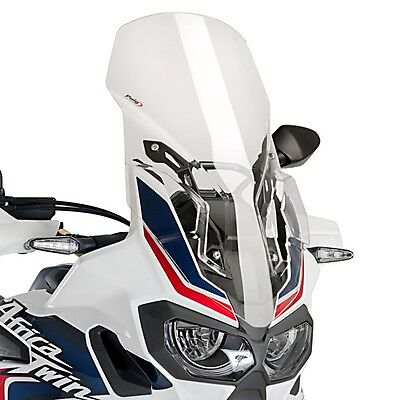 Windshield Touring Puig Honda Africa Twin CRF 1000 L 16-17 clear Spoiler Screen