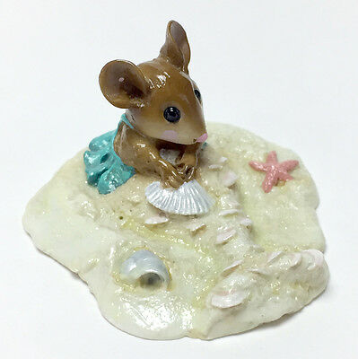 LITTLE MERMOUSE By Wee Forest Folk, WFF# M-308 Retired in 2009! EXCELLENT