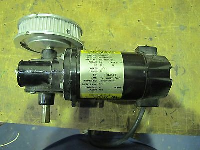BALDOR DC Motor with reduction gear box