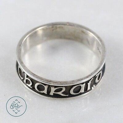 Sterling Silver | Anam Chara Soul Friend Celtic Band 3.6g | Ring (11) Mens
