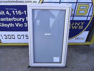 Aluminium Awning Window 1060H  X 640 W (Item 3096/8) Surfmist