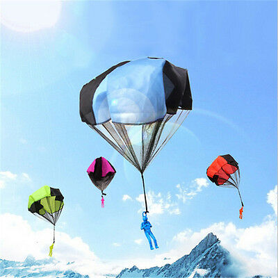 Kids Play Throwing Hand Outdoor Blue Parachute Mini Children's Educational Toys