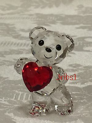 Swarovski KRIS BEAR - A HEART FOR YOU 5265310 CRYSTAL FIGURINE HEART VALENTINE