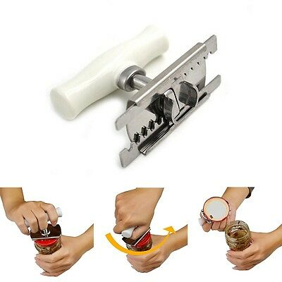 Creative Bottle Jar Can Lid Opener Convenient Kitchen Tool Cookware Bar Openers