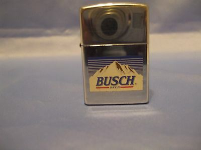 Zippo Lighter BUSCH 1997 lightly used