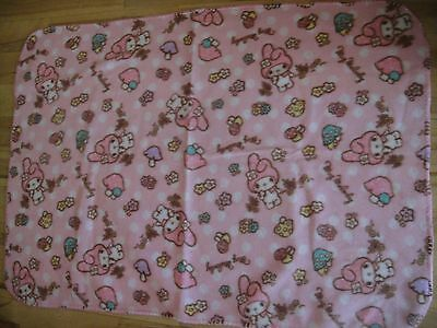 Sanrio My Melody Blanket  Ribbon version Not for Sale RARE from Japan
