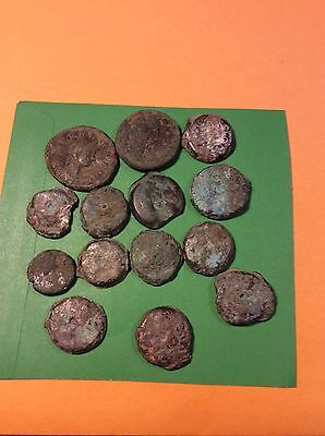 lot of anichent  coins