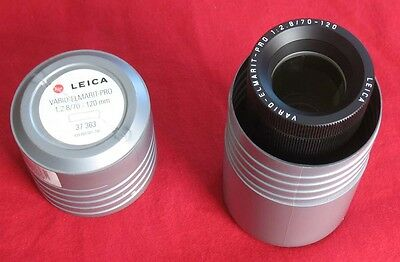 LEICA Vario Elmarit PRO f/2.8 70-120mm Slide Projector Lens w/ case 37 363 37363