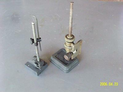 2 Surface Gage/ Indicator test stands RULE HOLDER Clamp