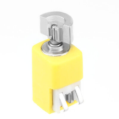 DC 3.7V 9000RPM 90mA 4mm x 8mm Yellow Micro Vibration Motor for Cell Phone