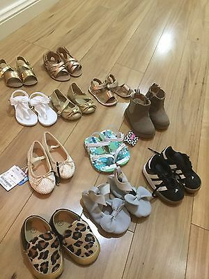 Baby Girl Shoes Bulk Brand New Country Road HM Zara Country Road Adidas And More