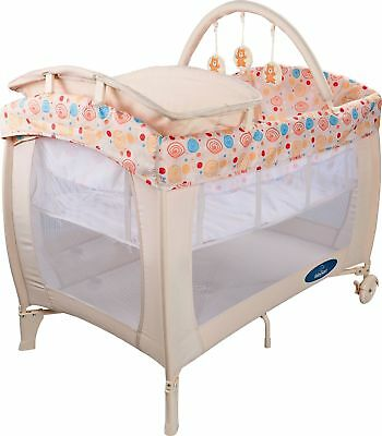 BabyStart Deluxe Travel Cot - Natural. From the Official Argos Shop on ebay