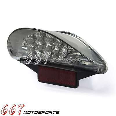 LED Taillight E-Marked W/License Plate Light For BMW F650 Dakar F650 GS ST R1200