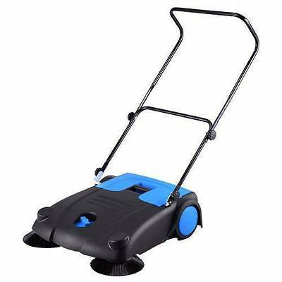 BRAND NEW Broom Floor Sweeper Industrial/Home Walk Behind 40L Container