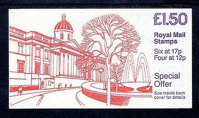 GB Stamps £1.50 Folded Booklet 1988 National Gallery SG FP2B Mint