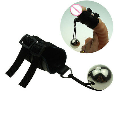 MALE MAX PRO HANGER Leather Lace-up {NO EYELETS} Enlarger Training Easy to Use