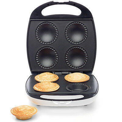 Pie Maker Non Stick 4 Pies Machine Press Home Healthy Making Baker Cooks Pastry