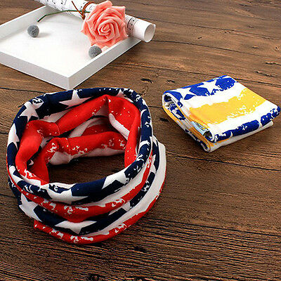 Children Kids Scarf Cotton Neckerchief Scarves Winter Warm Knitting Shawl Beauty
