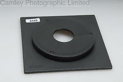 Sinar Extended Lens Board Copal #1 34.6mm. Condition – 4E [4449]