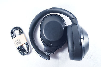 Sony Premium MDR-1000X/B Bluetooth Wireless Noise Cancelling Headphones (Black)