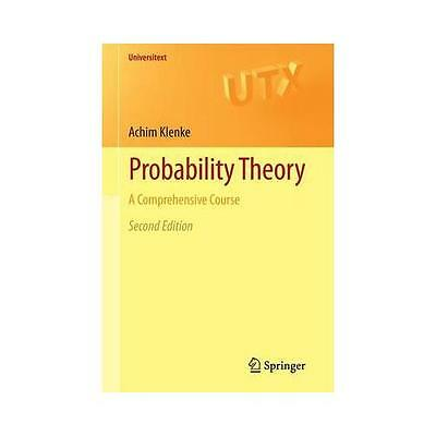 Probability Theory: A Comprehensive Course by Achim Klenke (Paperback, 2013)