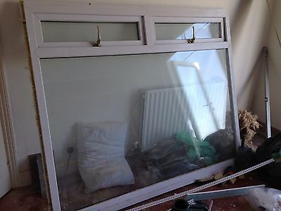 Large, double glazed UPVC window