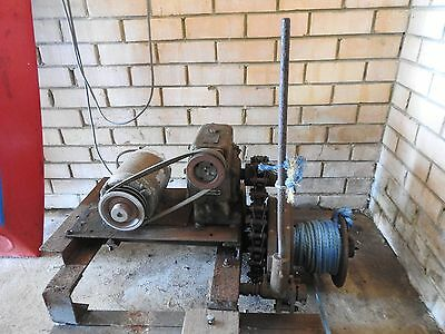 Antique Winch