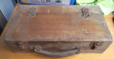 Antique Wooden Medical  Old Collectable