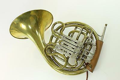 Original Ed. Kruspe Horner Model Double French Horn GORGEOUS! QuinnTheEskimo