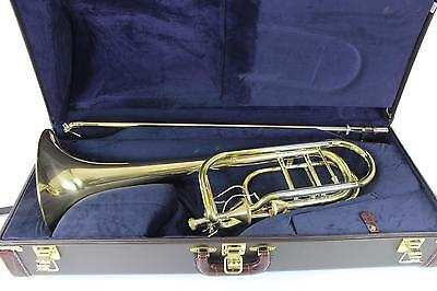 Bach Stradivarius Model 50T3GH Bass Trombone DUAL THAYER MINT QuinnTheEskimo