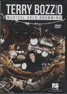 Terry Bozzio Musical Solo Drumming Drum DVD