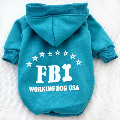 Autumn Winter Pet Costume Puppy Hoodie Clothes for Dogs or Warm Coat Clothing