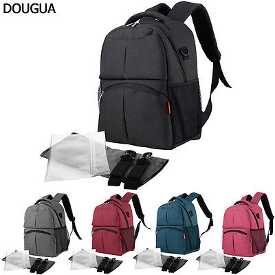 US Multifunctional Baby Diaper Backpack Mommy Bag Nappy Changing Mummy Stroller