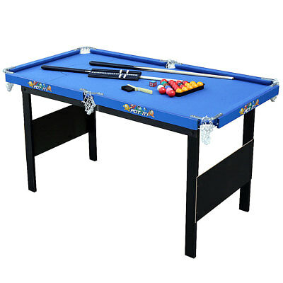 4 ft Mini Pool Table Snooker Billiard Game Table for Kids Birthday Gift Indoor