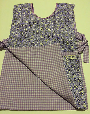 Kids reversible Art Smock/Apron-2-4 yrs good for crafts or cooking