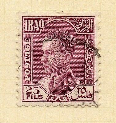 Iraq Ghazi 1934 Early Issue Fine Used 25f. 163655