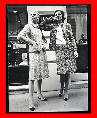 Fotografia Photo Farabola 1972 Paris Fashion Designer Chanel Moda