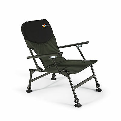 Cyprinus Fishing Folding Chair Seat With Arm Rests Carp Lightweight Camping