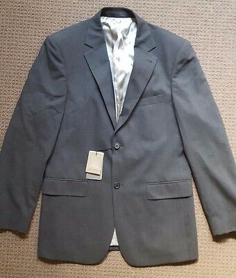 Men's NEW Country Road Suit Jacket Blazer Charcoal Size 40 RRP $379