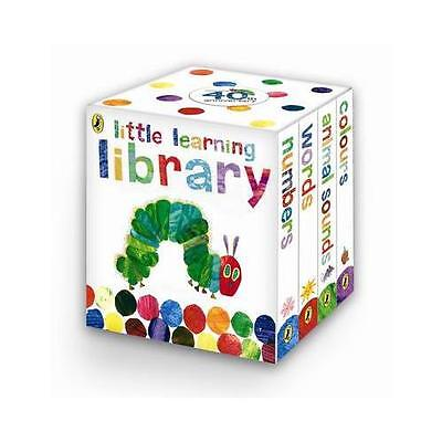 The Very Hungry Caterpillar: Little Learning Library by Eric Carle (Board...