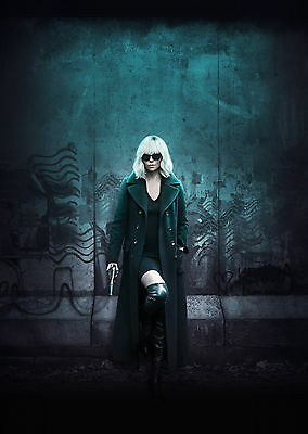 Atomic Blonde (2017) V3 - A2 POSTER **BUY ANY 2 AND GET 1 FREE OFFER**