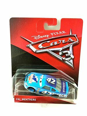 Mattel Disney Pixar Cars 3 Cal Weathers Diecast toy 1:55 Boxed New In Stock