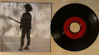 """The Cure """"boys Don't Cry"""" Single 7"""" 1986 Fiction Records France"""