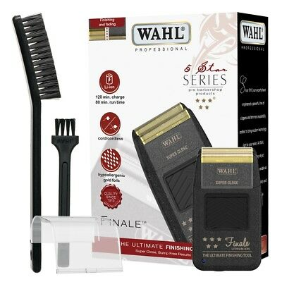 Wahl Rasoio Elettrico Finale Finishing Tool Barba Cordless Super Close Shaver