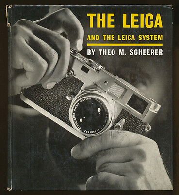 T.M.Scheerer libro The Leica and The Leica System 1960 in inglese D958