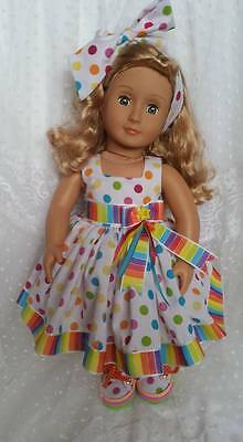 """Our Generation/American Girl/DesignAFriend 18"""" Dolls Outfit"""